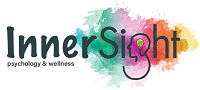 Logo of InnserSight Psychology with Anna-Michele Antoine-Cooper as principal psychologist